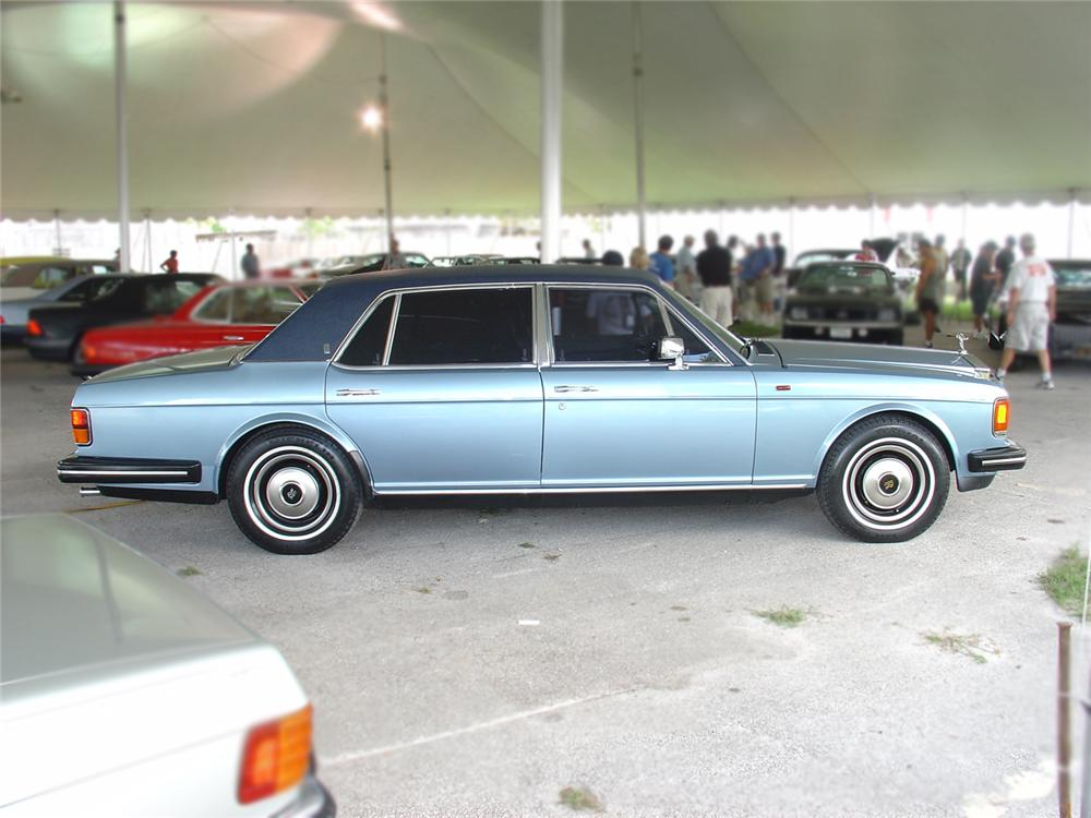 1983 ROLLS-ROYCE SILVER SPUR LONG WHEELBASE - Interior - 65515