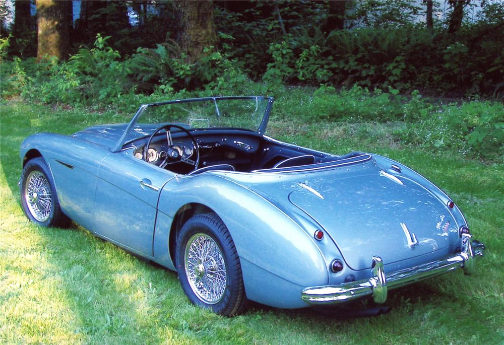 California Style Manual >> 1961 AUSTIN-HEALEY 3000 BT7 ROADSTER - 65744