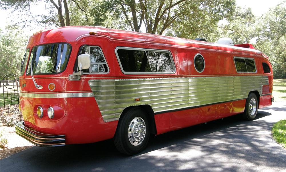 Gmc Motorhome For Sale >> 1947 FLXIBLE STARLINER CUSTOM MOTORHOME - 65746