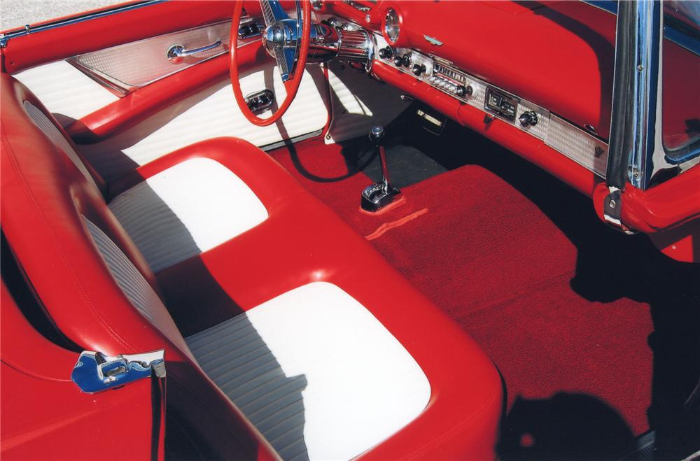 1955 FORD THUNDERBIRD CONVERTIBLE - Interior - 65748