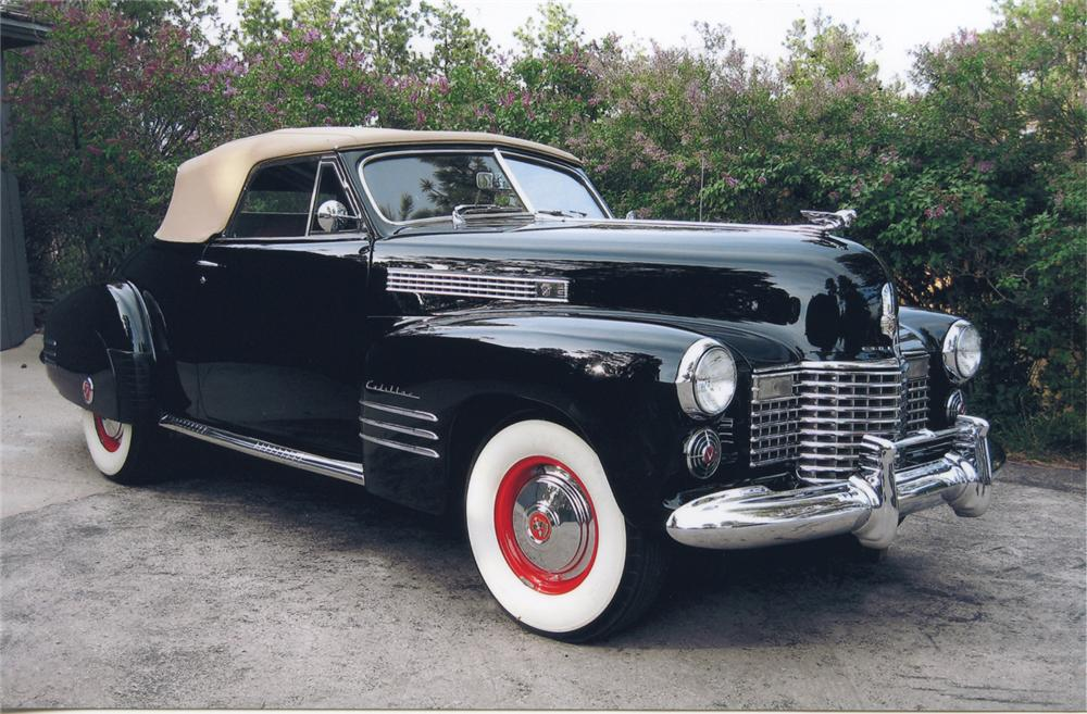 1941 CADILLAC SERIES 62 2 DOOR CONVERTIBLE - Front 3/4 - 65749