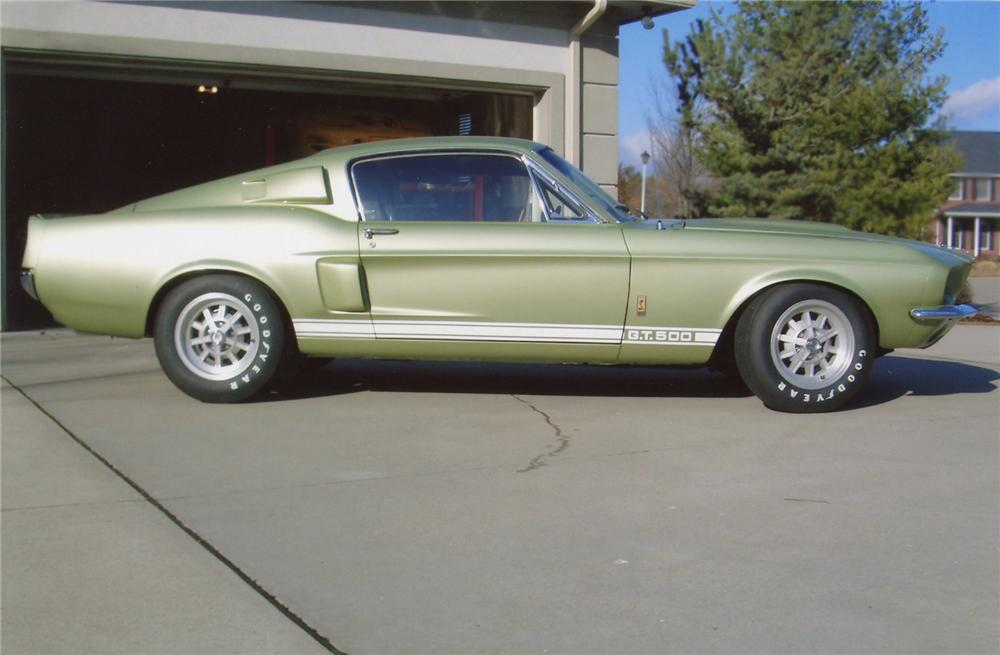 1967 SHELBY GT500 FASTBACK - Side Profile - 65750