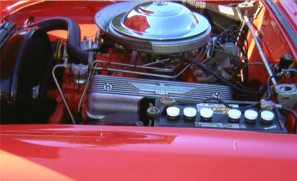 1956 FORD THUNDERBIRD CONVERTIBLE - Engine - 65760