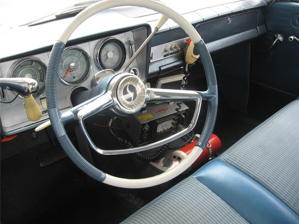1964 STUDEBAKER 4 DOOR POLICE CAR - Interior - 65783