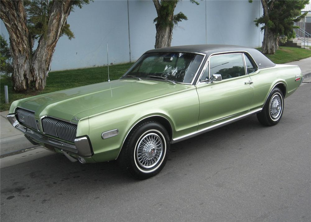 1968 Mercury Cougar 2 Door 65784