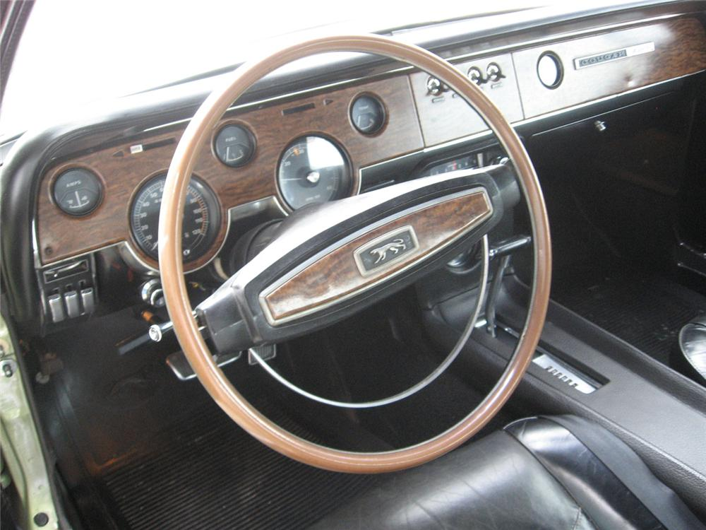 1968 MERCURY COUGAR 2 DOOR - Interior - 65784