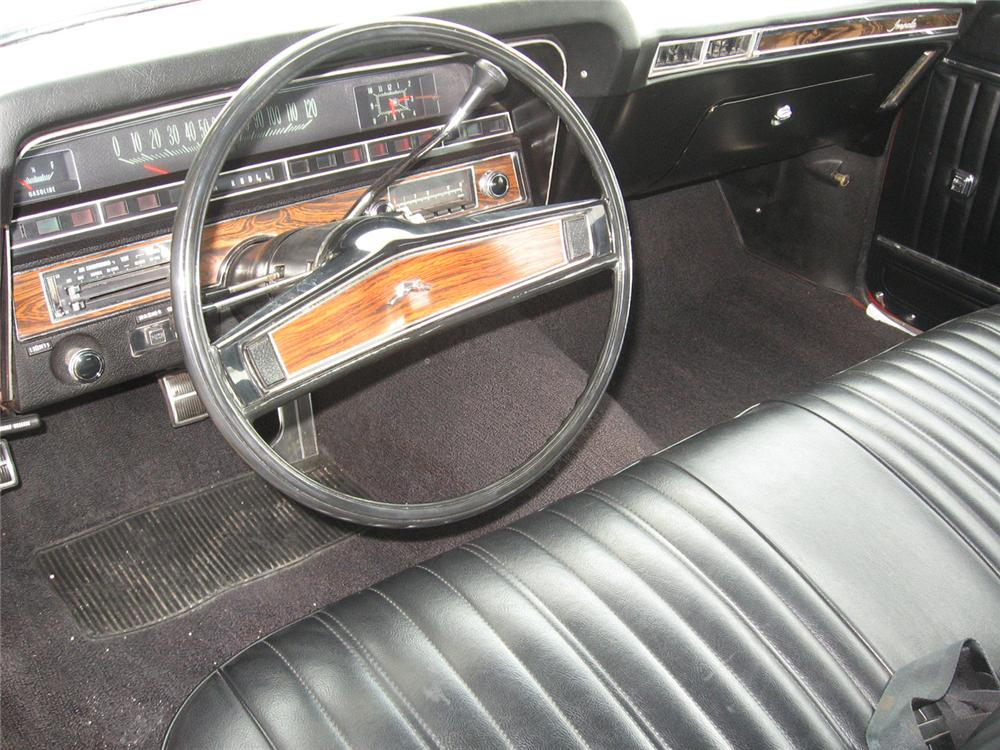 1969 CHEVROLET IMPALA 2 DOOR CONVERTIBLE - Interior - 65786