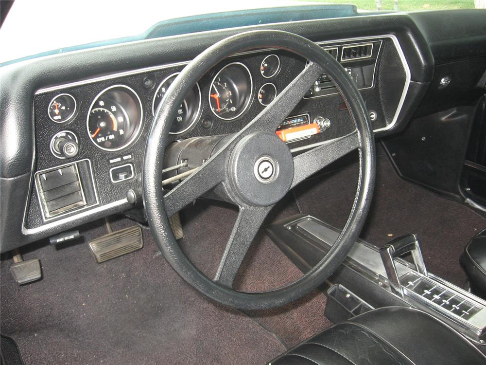 1972 CHEVROLET MALIBU WAGON SS RE-CREATION - Interior - 65787