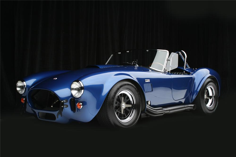 1966 SHELBY COBRA 427 ROADSTER RE-CREATION - Front 3/4 - 65798