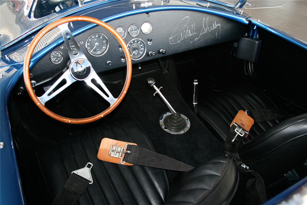 1966 SHELBY COBRA 427 ROADSTER RE-CREATION - Interior - 65798