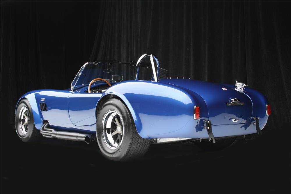 1966 SHELBY COBRA 427 ROADSTER RE-CREATION - Rear 3/4 - 65798