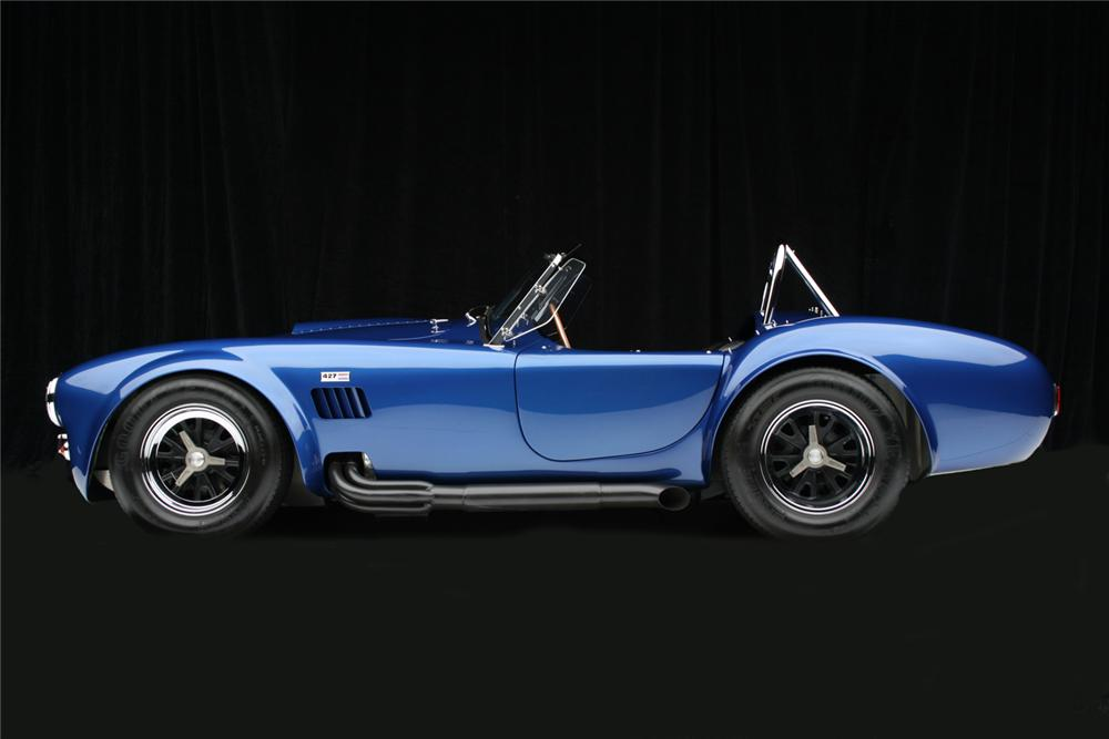 1966 SHELBY COBRA 427 ROADSTER RE-CREATION - Side Profile - 65798