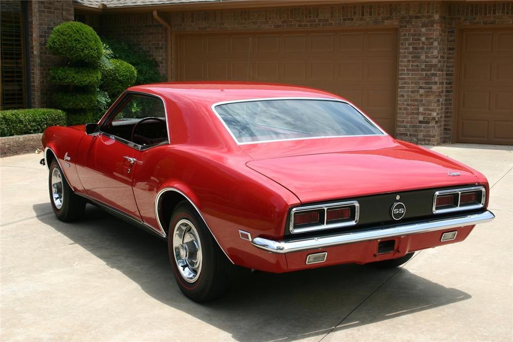1968 CHEVROLET CAMARO RS/SS COUPE - 65805
