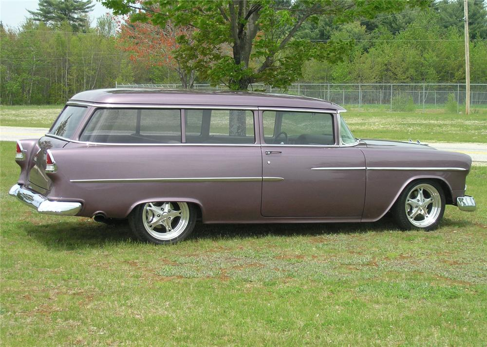 1955 CHEVROLET HANDYMAN CUSTOM WAGON - Side Profile - 65811