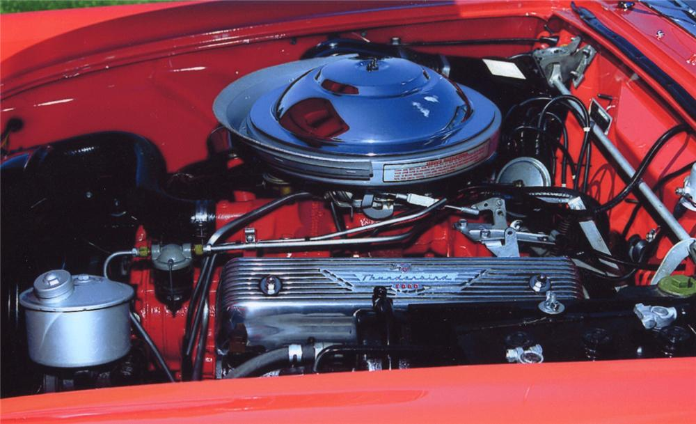 1955 FORD THUNDERBIRD CONVERTIBLE - Engine - 65812