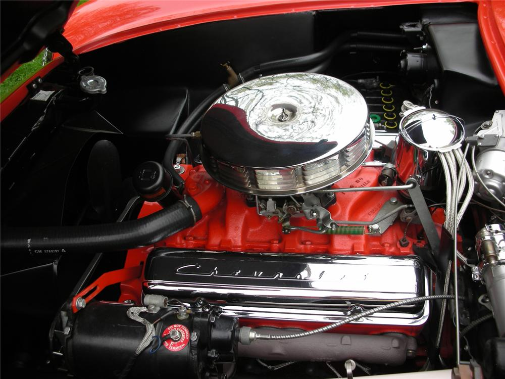 1955 CHEVROLET CORVETTE CONVERTIBLE - Engine - 65813