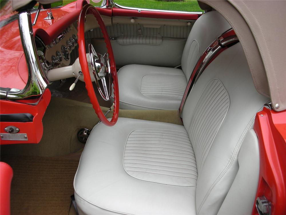 1955 CHEVROLET CORVETTE CONVERTIBLE - Interior - 65813