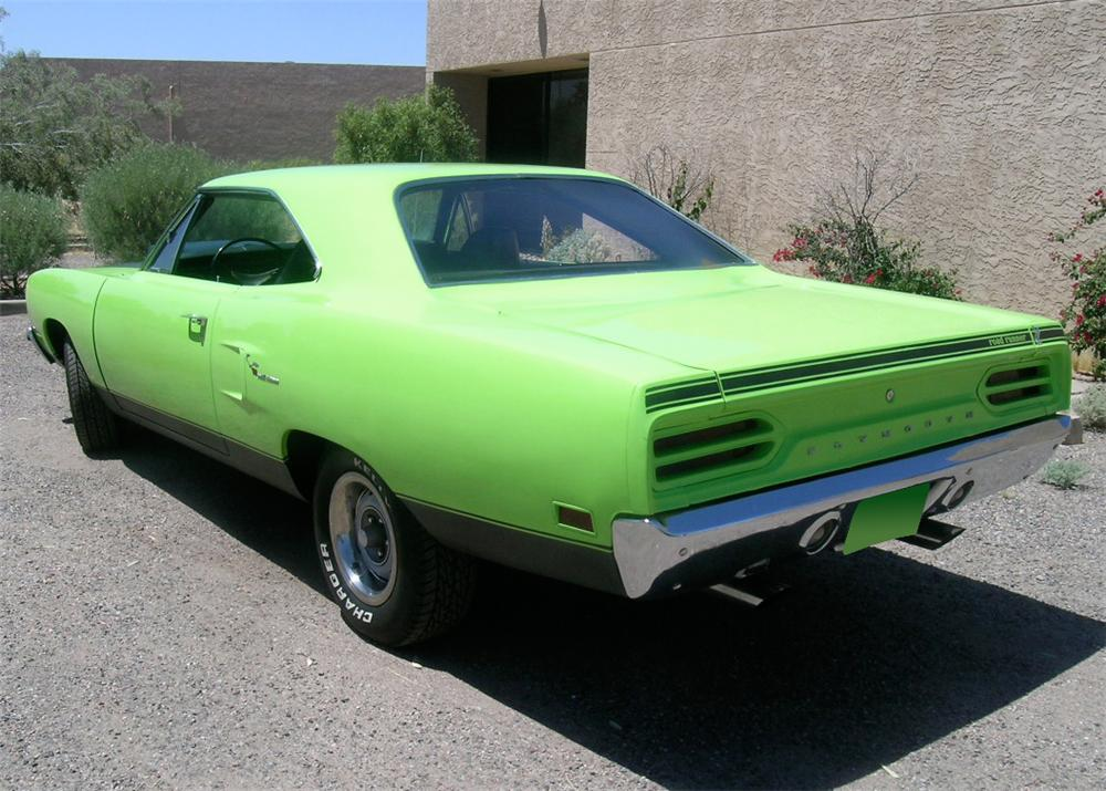 1970 PLYMOUTH ROAD RUNNER 2 DOOR HARDTOP - Rear 3/4 - 65815