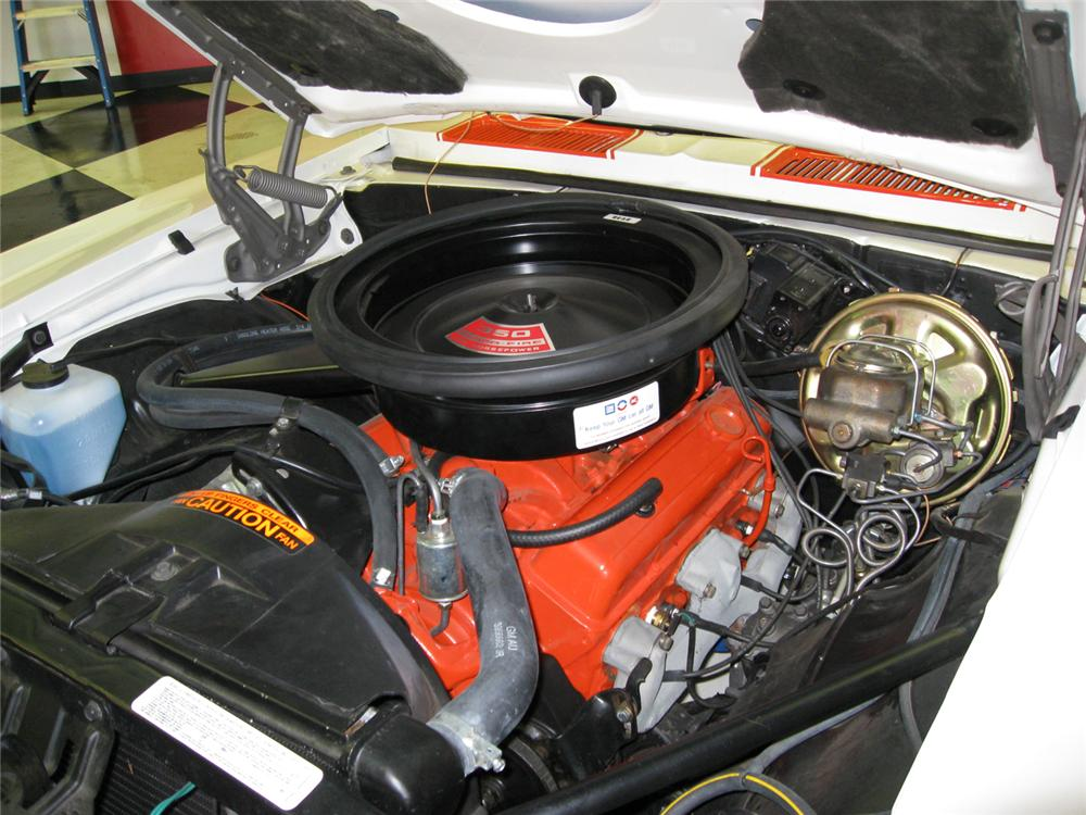 1969 CHEVROLET CAMARO RS/SS CONVERTIBLE - Engine - 65818