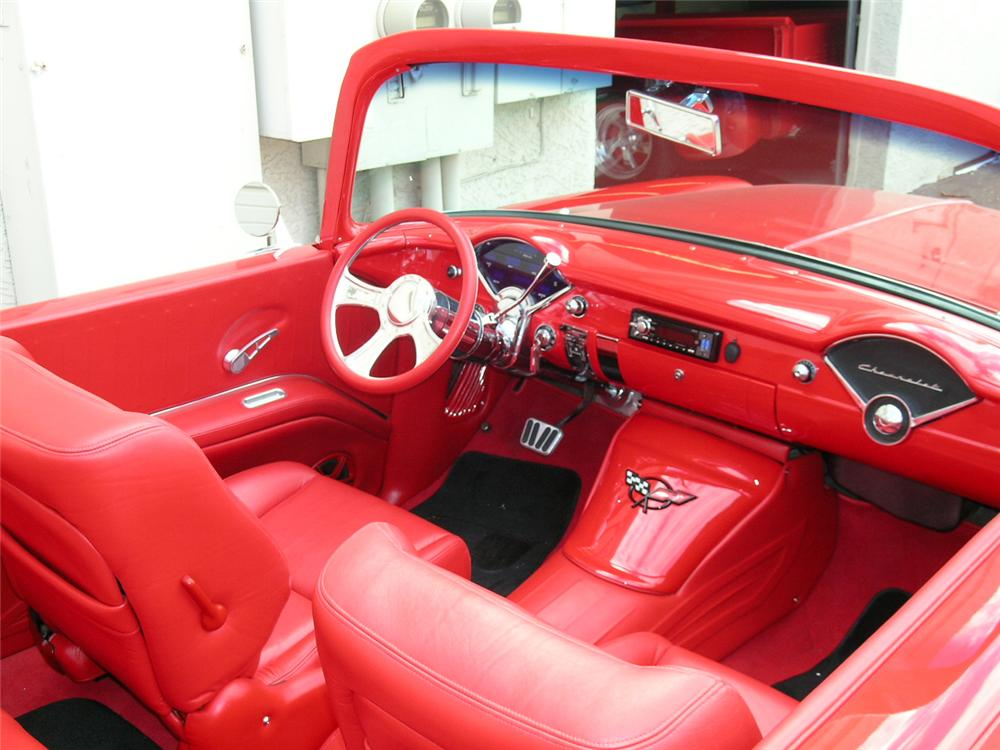 1955 CHEVROLET 210 CUSTOM TUDOR CONVERTIBLE - Interior - 65821