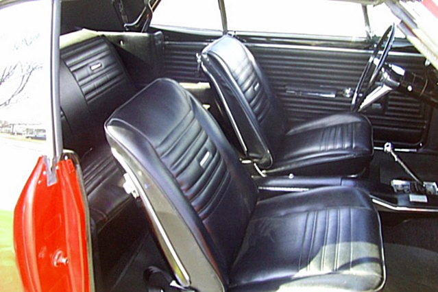 1967 CHEVROLET CHEVELLE SS 2 DOOR CONVERTIBLE - Interior - 65833