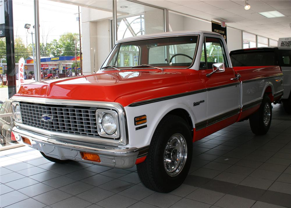 1972 CHEVROLET 3/4 TON PICKUP - Front 3/4 - 65838