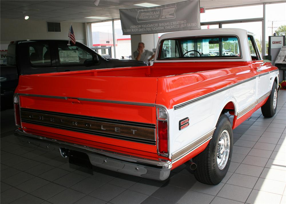 1972 CHEVROLET 3/4 TON PICKUP - Rear 3/4 - 65838