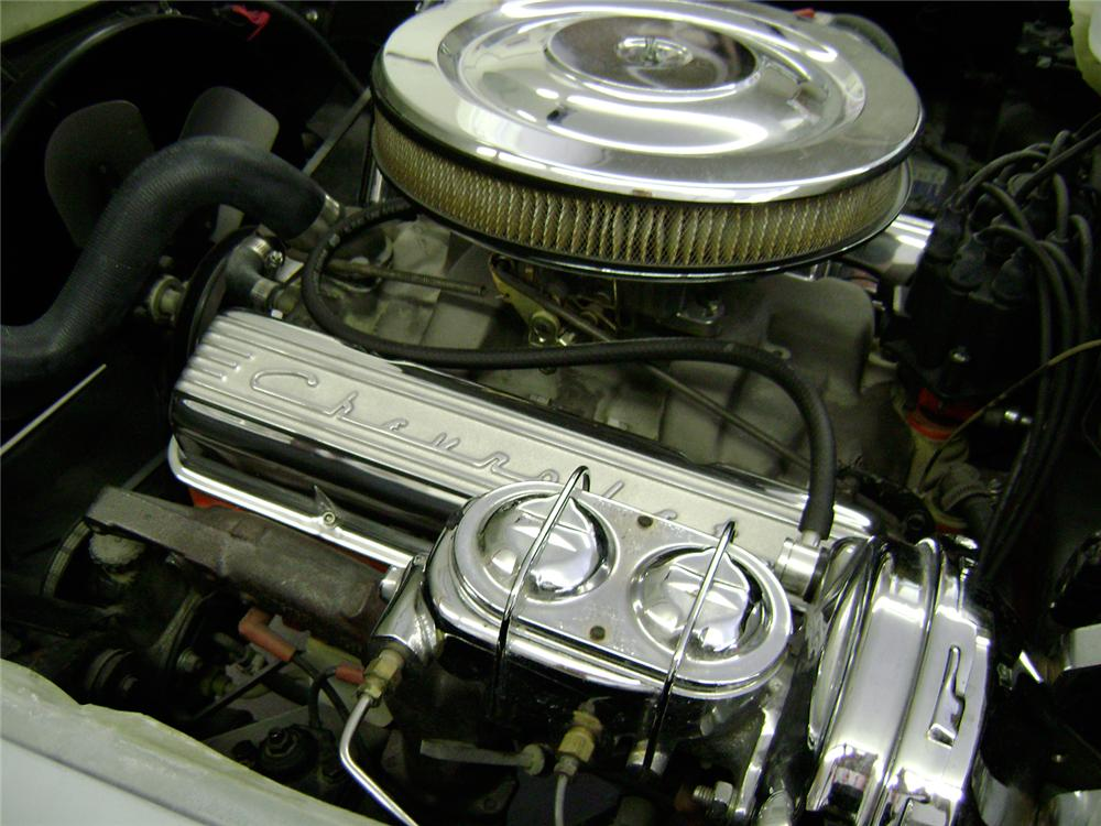 1964 CHEVROLET CORVETTE CONVERTIBLE - Engine - 65851
