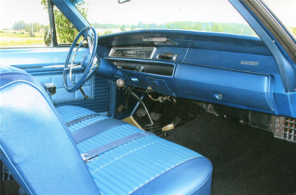 1968 PLYMOUTH ROAD RUNNER 2 DOOR SEDAN - Interior - 65852