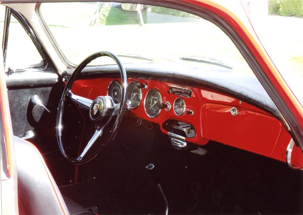 1963 PORSCHE 356B COUPE - Interior - 65861
