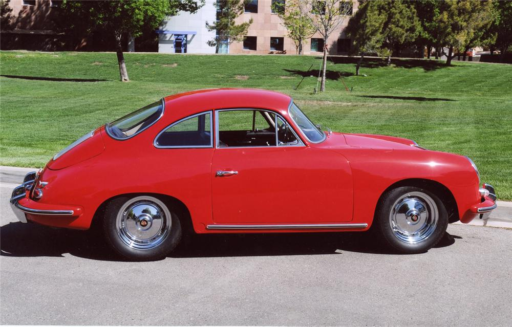 1963 PORSCHE 356B COUPE - Side Profile - 65861