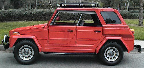 1974 VOLKSWAGEN THING CONVERTIBLE - Side Profile - 65862