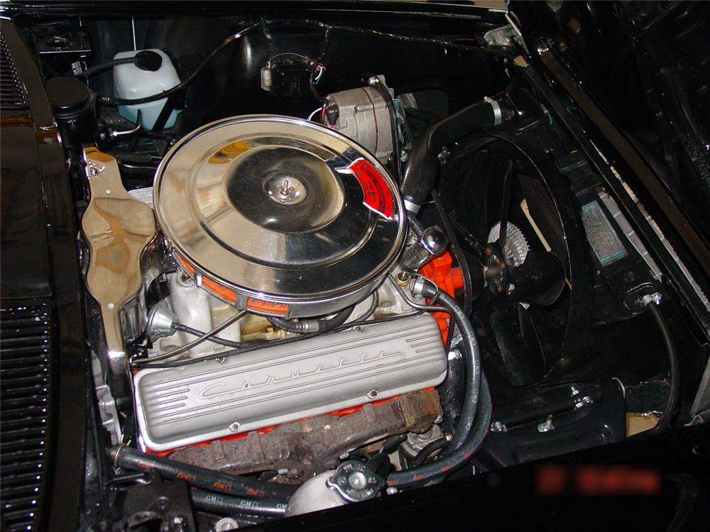 1966 CHEVROLET CORVETTE CONVERTIBLE - Engine - 65865