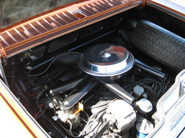 1965 CHEVROLET CORVAIR CORSA COUPE - Engine - 65867