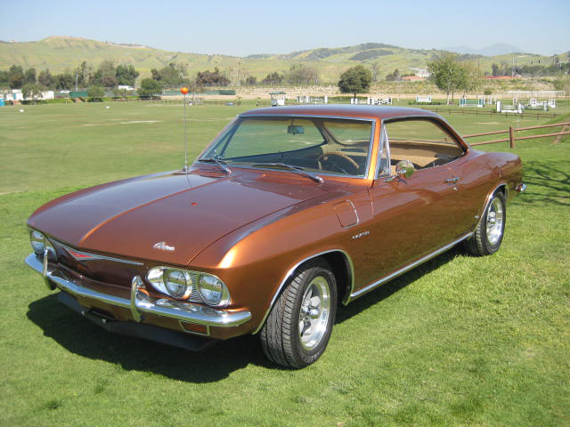 1965 CHEVROLET CORVAIR CORSA COUPE - Front 3/4 - 65867