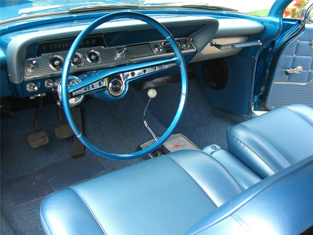 1962 CHEVROLET IMPALA SS 409 CONVERTIBLE - Interior - 65869