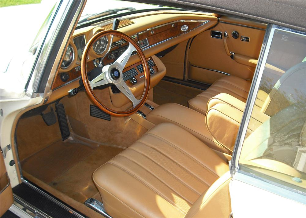 1970 MERCEDES-BENZ 280SE CONVERTIBLE - Interior - 65871