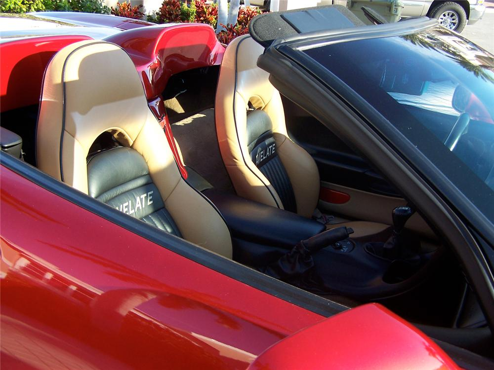 2000 CHEVROLET CORVETTE AVELATE CUSTOM CONVERTIBLE - Interior - 65886