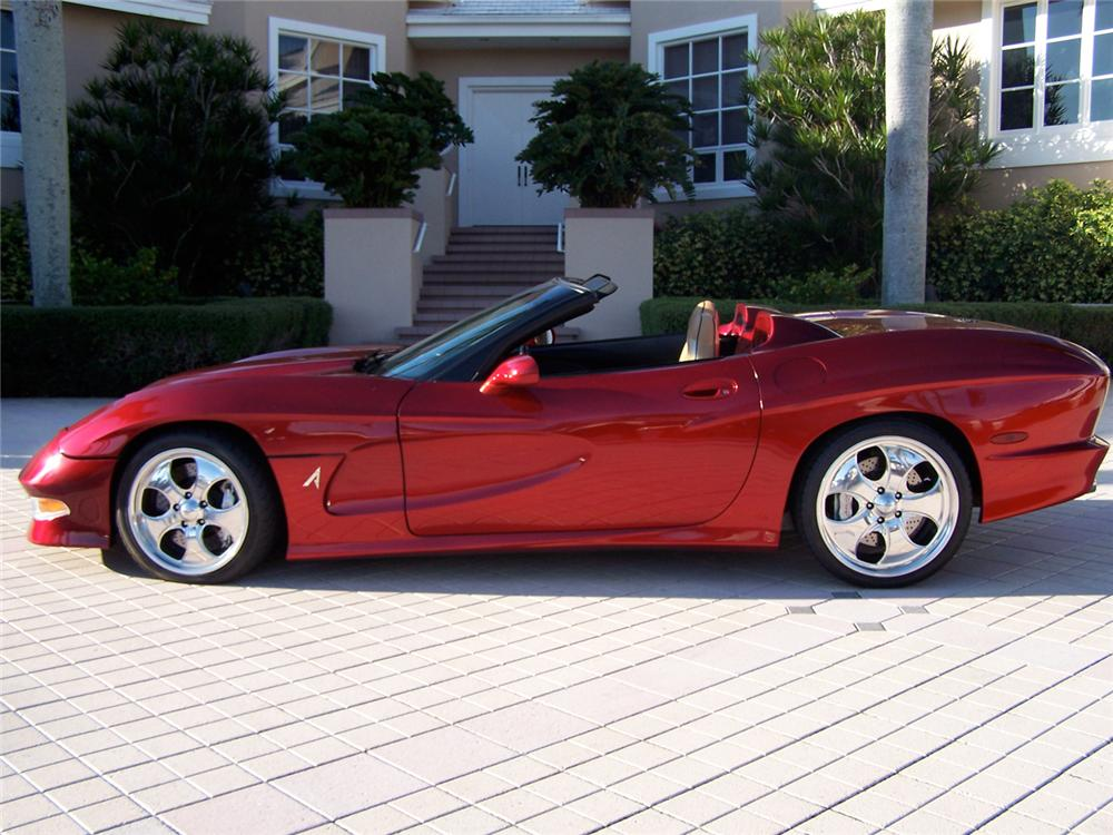 2000 CHEVROLET CORVETTE AVELATE CUSTOM CONVERTIBLE - Side Profile - 65886