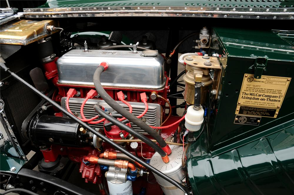 1949 MG TC ROADSTER RACE CAR - Engine - 65890
