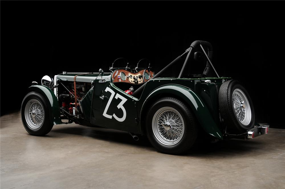 1949 MG TC ROADSTER RACE CAR - Rear 3/4 - 65890