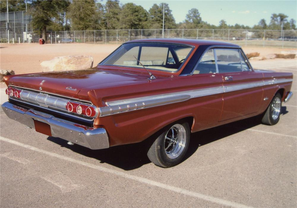 1964 MERCURY COMET CALIENTE 2 DOOR HARDTOP - Rear 3/4 - 65891