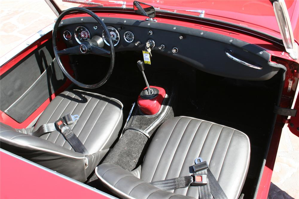 1958 AUSTIN-HEALEY SPRITE BUGEYE 2 DOOR CONVERTIBLE - Interior - 65893