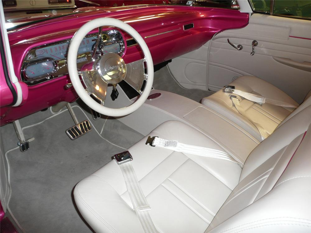 1957 CADILLAC SERIES 62 CUSTOM 2 DOOR HARDTOP - Interior - 65898