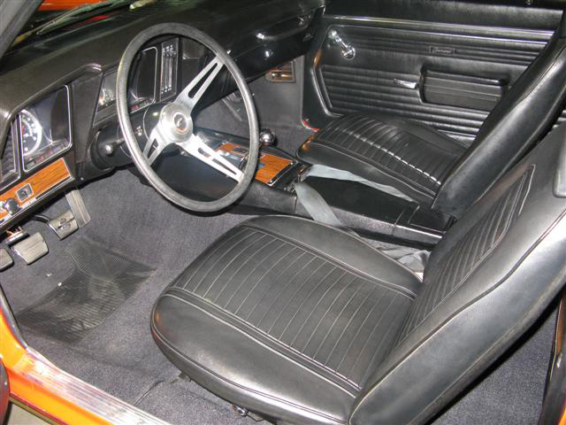 1969 CHEVROLET CAMARO Z/28 RS COUPE - Interior - 65906