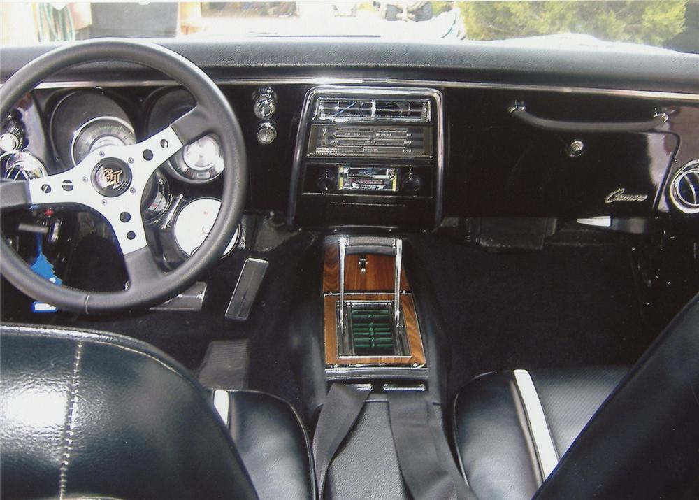 1968 CHEVROLET CAMARO RS CUSTOM COUPE - Interior - 65908
