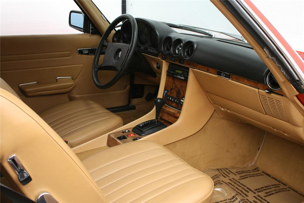 1985 mercedes benz 380sl convertible 65910. Black Bedroom Furniture Sets. Home Design Ideas