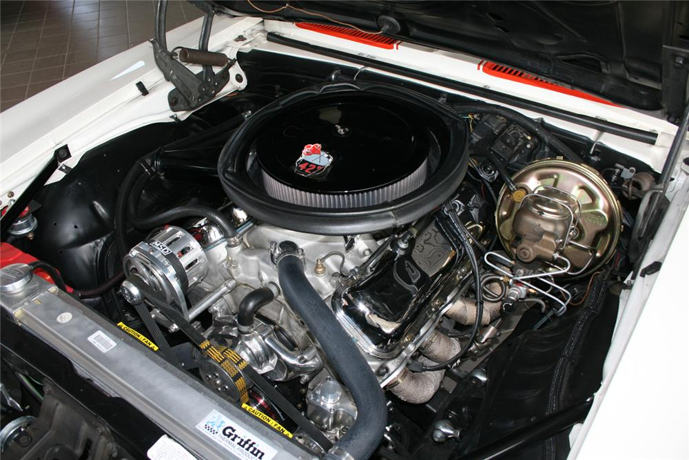 1969 CHEVROLET CAMARO RS/SS PACE CAR CONVERTIBLE - Engine - 65916