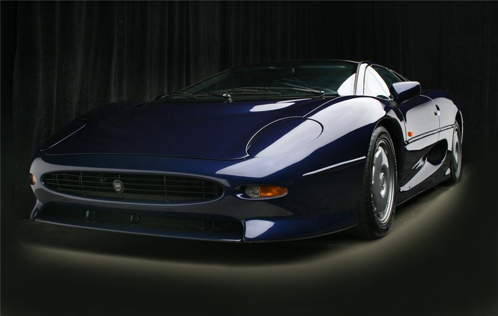 1992 JAGUAR XJ 220 2 DOOR HARDTOP - Side Profile - 65918
