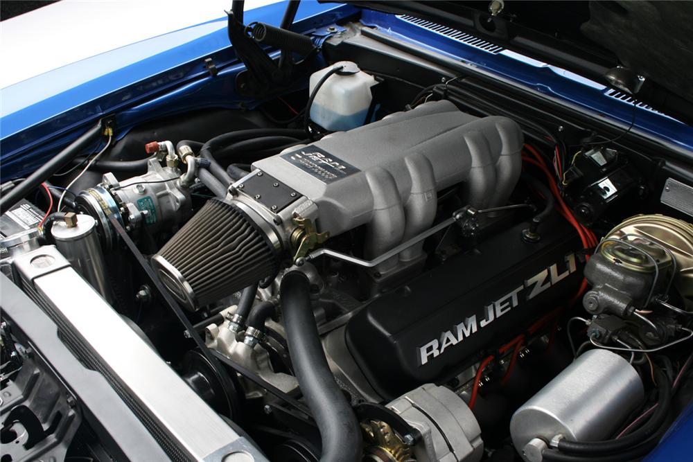 1969 CHEVROLET CAMARO COUPE - Engine - 65919